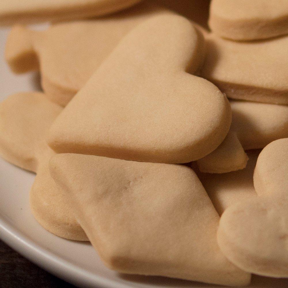 がんばクッキー/ぎゅうにゅう