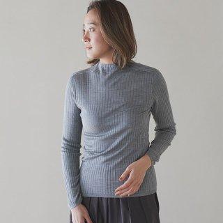 ハイゲージセーター/シルク