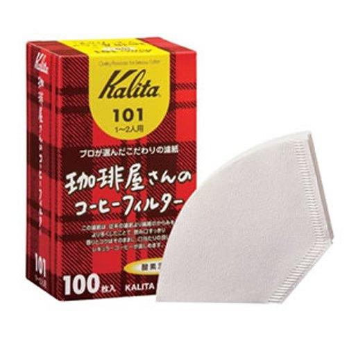 【箱買い】カリタ・珈琲屋さんのコーヒーフィルター【酸素漂白101】100枚入25セット【返品不可商品】