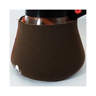 コーヒーサーバー用 くるむくん 4人用 ブラウン&レッド
