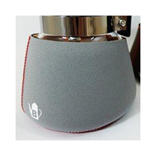 コーヒーサーバー用 くるむくん 4人用 グレー&レッド