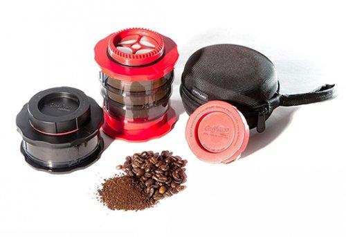 Cafflano Kompact カフラーノ コンパクト フレンチプレスコーヒーメーカー レッド P100-RD
