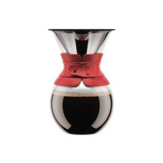 bodumボダム プア・オーバードリップ式コーヒーメーカー レッド 11571-294
