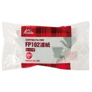 Kalita カリタ コーヒーフィルター ホワイト 100枚入 FP102濾紙 2〜4人用 #13127