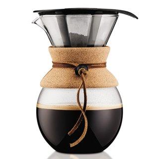 BODUM ボダム プアオーバードリップ式コーヒーメーカー 1.0L ギフト仕様 11571-109GB