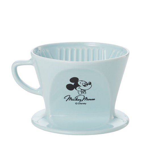 Kalita カリタ ディズニー ミッキー&ミニー HA102陶器ドリッパー ブルー MMHA102BL