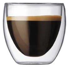 ボダム・パビーナ・ダブルウォール保温グラス 【0.08L】2個セット(4557-10)