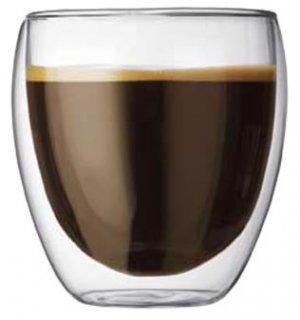 ボダム・パビーナ・ダブルウォール保温グラス 【0.25L】2個セット(4558-10)