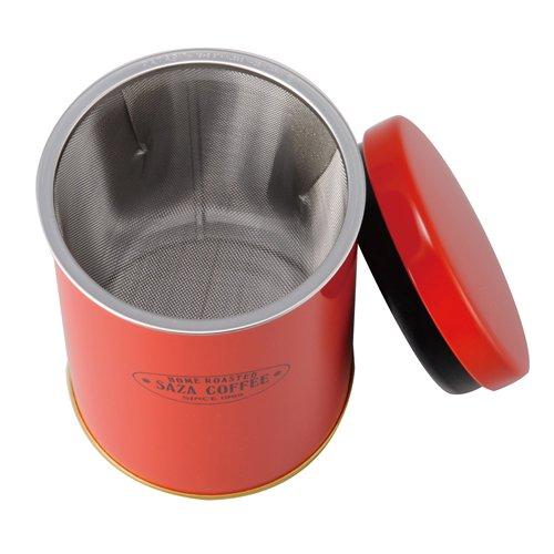 サザコーヒー パウダーコントロールストッカー(赤)メッシュ1種