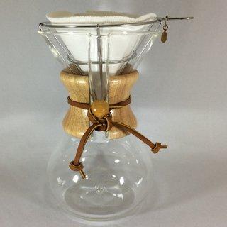 CHEMEX コーヒーメーカー6カップ ネルドリップ 3点セット