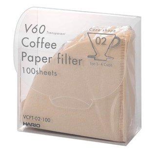【HARIO/ハリオ】 V60ペーパーフィルターM 100枚 VCFT-02-100M