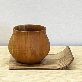 安清式 木の器 & コースターセット ナチュラル