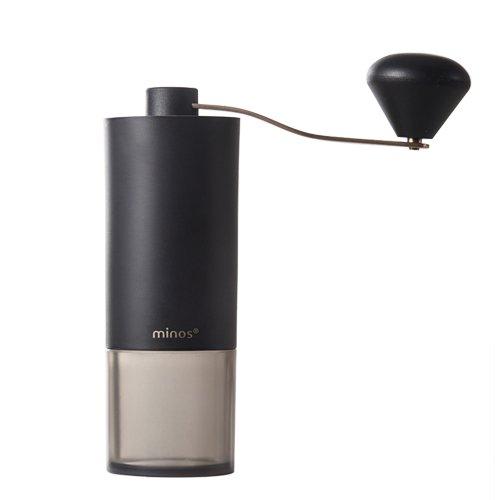 minos マニュアルコーヒーグラインダー light ブラック【正規輸入品・日本語取説付】
