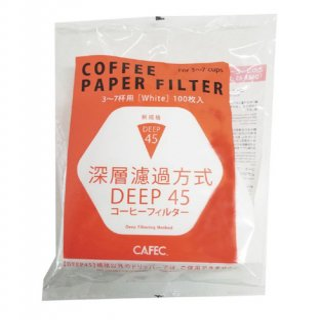 CAFEC DEEP DRIPPER PRO ディープドリッパープロ シリコンリング3〜7杯用 DS-45