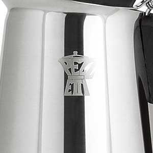 PEZZETTI ペゼッティ 直火式エスプレッソメーカー STEELEXPRESS【2人用】 1386