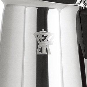PEZZETTI ペゼッティ 直火式エスプレッソメーカー STEELEXPRESS【6人用】 1388