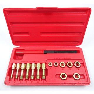 タップダイスセット ボルト式 ネジピッチやすり付 ミリサイズ ねじ山修正工具 M6x1 M8x1.25 M10x1.25 M10x1.5 M12x1.25 M12x1.5 M12x1.75