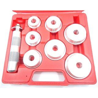 オイルシールドライバーセット 油圧プレス用アタッチメントとしても使用可能! 圧入工具 アダプター