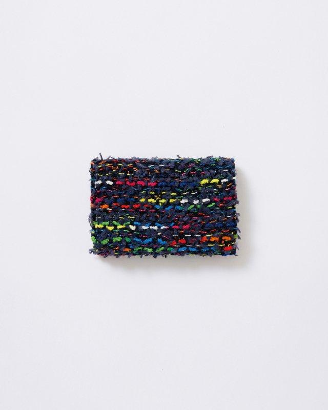 KNIT TWEED CARD CASE - COOHEM TWEED