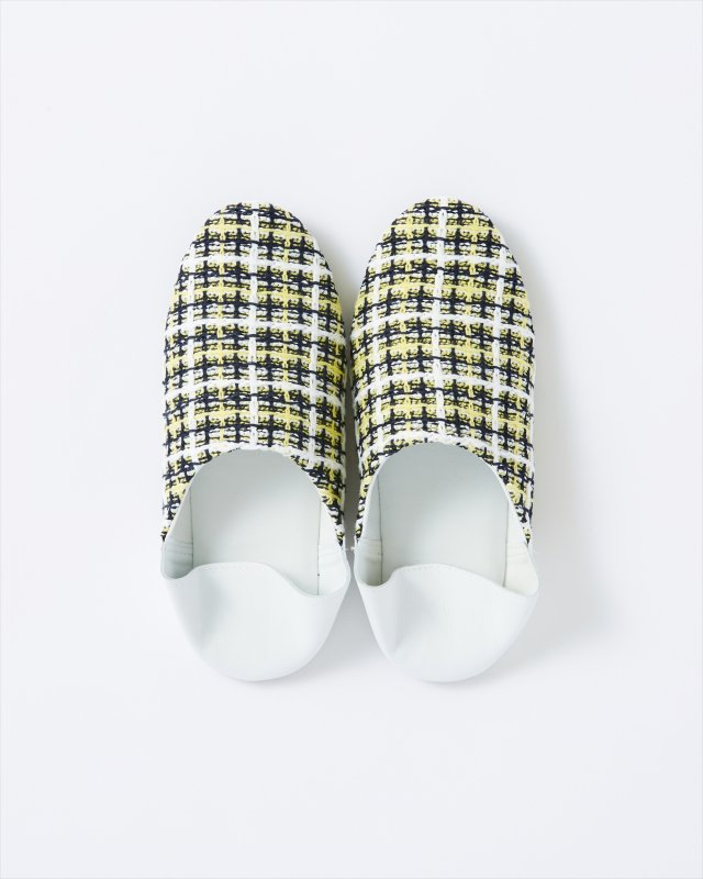 CL011 BABOUCHE 【SPRING TRICOLOR TWEED】
