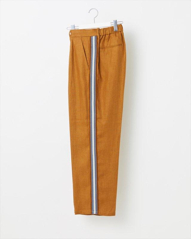 MEN_KNIT SIDELINE LINEN PANTS