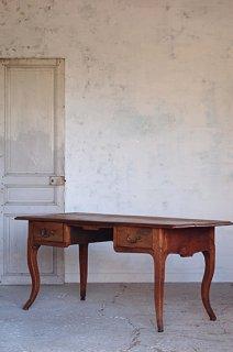 チェリーのデスク-antique cabriole leg desk