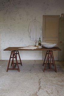 アトリエテーブル-antique work table