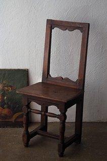 オークのロレーヌチェア-antique oak chair