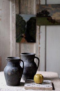 陶器水差し-porcelain pitcher