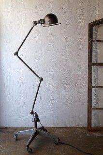 リヨン・ジェルデ社のフロアランプ-vintage jielde floor lamp