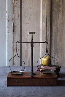 解を求める吊り天秤-antique balance