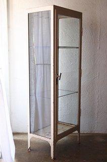 白のメタルキャビネット-vintage metal cabinet