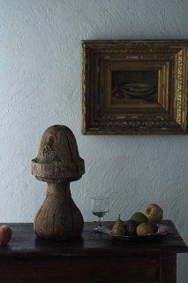 不思議な木製オブジェ-old wood objet