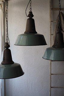 クラウン高くペンダントランプ-vintage pendant lamp