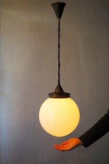 円を構成、吊り下げ照明-round glass pendant lamp
