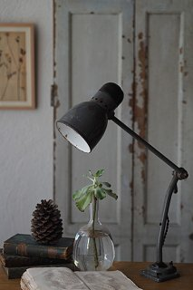 Kandem社 テーブルランプ-vintage enamel table lamp