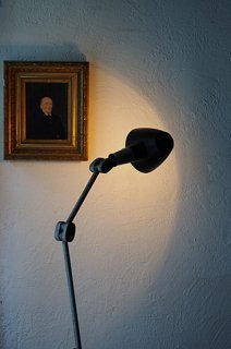 自在アームのブラケットランプ-vintage table or bracket lamp