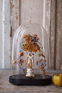 アンティークガラスドーム-antique glass dome