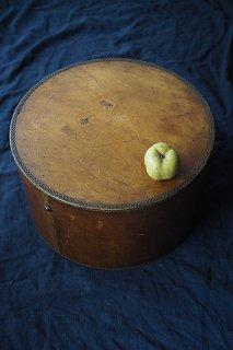 フランス 古き曲げ物-antique wood box