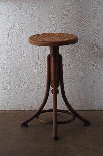 バー・スツール-bentwood round stool