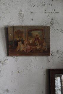 マドモアゼル ココ-  french oil painting canvas