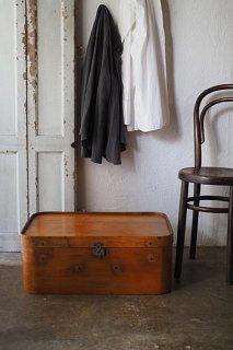 モダニズムの到来 プライウッドのスーツケース-vintage plywood suitcase