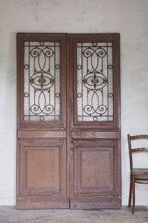 フレンチダブルドア-antique double door