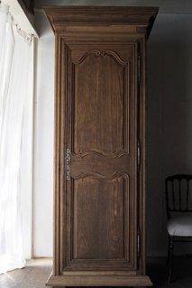 フレンチオーク.カップボード-antique oak cupboard