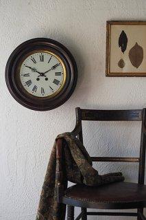 ローマ数字文字盤掛け時計-black wall clock