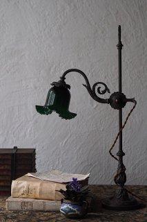 唐草絡むスタンドランプ-antique bronze stand lamp