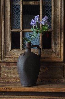 酒器 片手壺-antique stone ware pot
