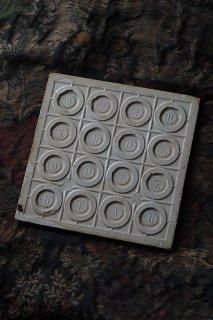 モントロー窯タイル-antique  montereau faience tile