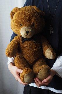 二頭身半クマ-vintage teddy bear
