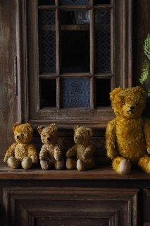 かしまし3人組クマ-vintage teddy bear